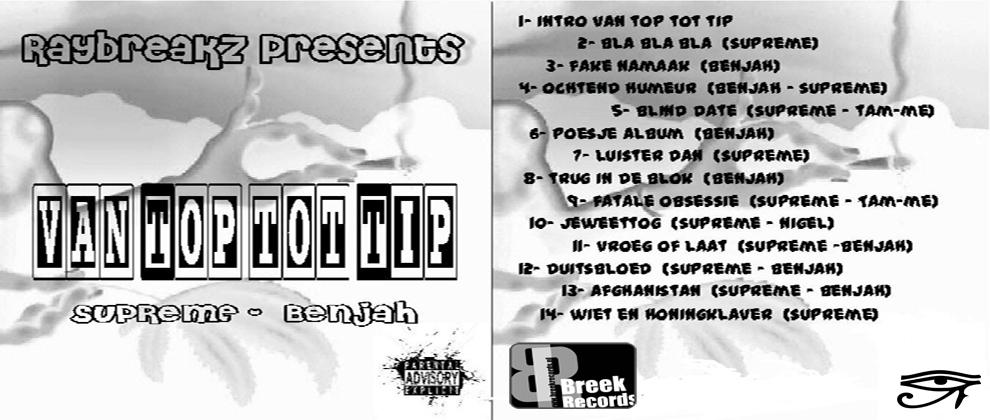 RayBreakZ Presents: Van Top Tot Tip