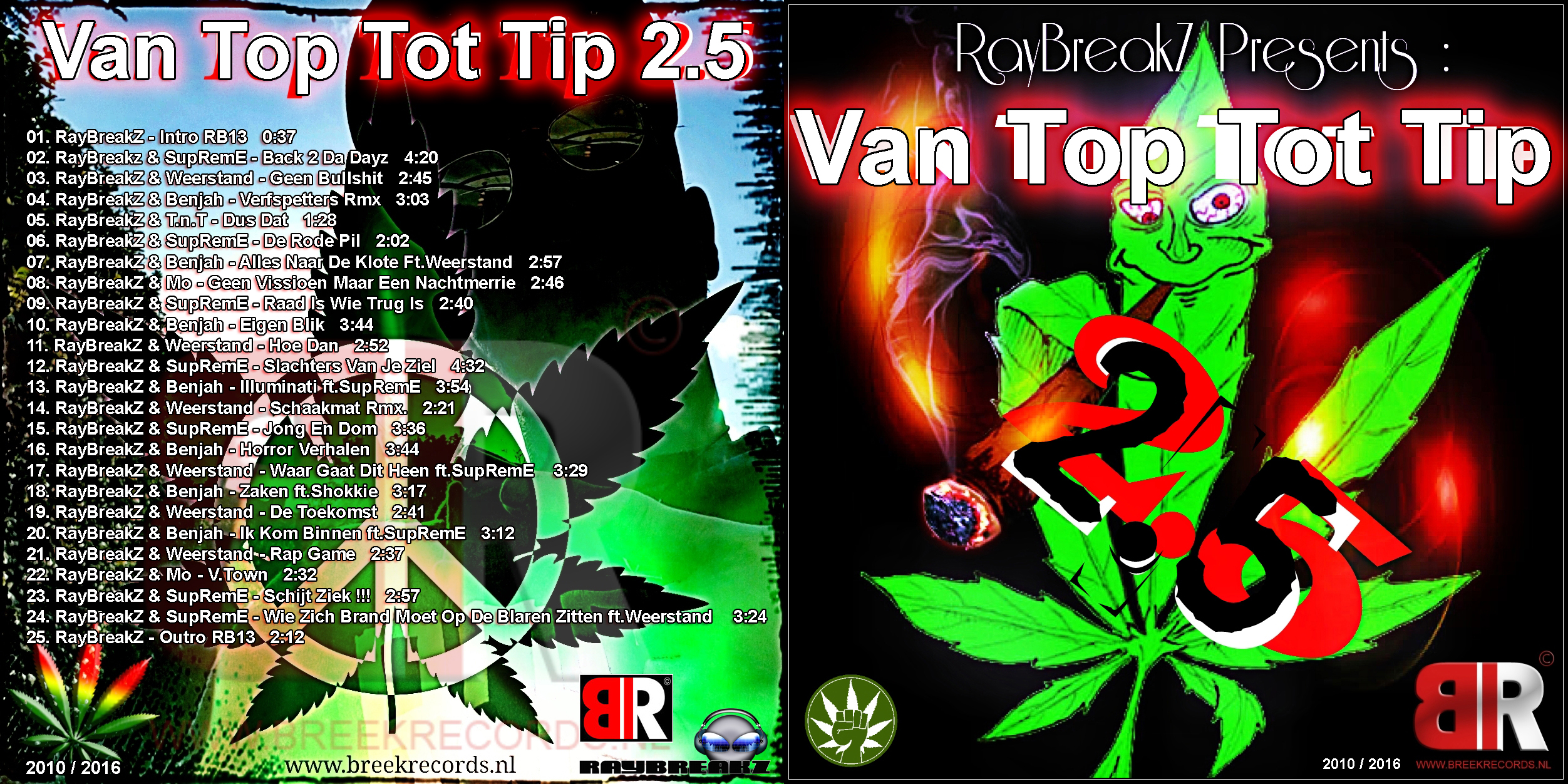 RayBreakZ Presents: Van Top Tot Tip 2.5